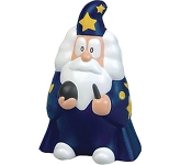 Gandalf Wizard Stress Toy  by Gopromotional - we get your brand noticed!