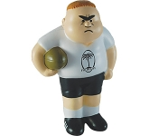Rugby Player Stress Toy  by Gopromotional - we get your brand noticed!