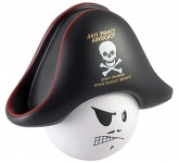 Pirate Mad Hat Stress Toy  by Gopromotional - we get your brand noticed!