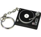 Turntable Keyring Stress Toy  by Gopromotional - we get your brand noticed!