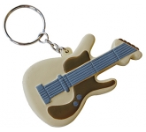 Guitar Keyring Stress Toy  by Gopromotional - we get your brand noticed!