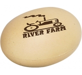 Free Range Egg Stress Toy  by Gopromotional - we get your brand noticed!