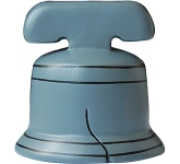 Bell Stress Toy  by Gopromotional - we get your brand noticed!