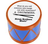 Drum Stress Toy  by Gopromotional - we get your brand noticed!