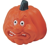 Angry Pumpkin Stress Toy  by Gopromotional - we get your brand noticed!