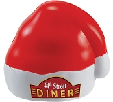 Santa Hat Stress Toy