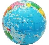 Education Globe Stress Ball  by Gopromotional - we get your brand noticed!