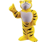 Tiger Mascot Stress Toy