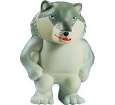 Wolf Mascot Stress Toy
