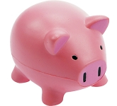 Mini Porky Pig Stress Toy  by Gopromotional - we get your brand noticed!