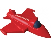 Fighter Jet Stress Toy  by Gopromotional - we get your brand noticed!