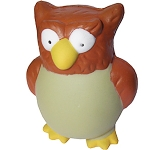 Wise Owl Stress Toy  by Gopromotional - we get your brand noticed!
