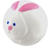 Rabbit Stress Ball  by Gopromotional - we get your brand noticed!