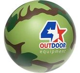 Camoflage Stress Ball  by Gopromotional - we get your brand noticed!