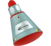 Space Capsule Stress Toy  by Gopromotional - we get your brand noticed!