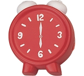 Alarm Clock Stress Toy  by Gopromotional - we get your brand noticed!