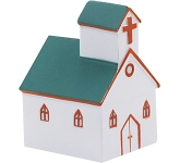 Church Stress Toy  by Gopromotional - we get your brand noticed!