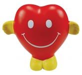 Smiley Heart Stress Toy  by Gopromotional - we get your brand noticed!