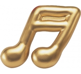 Semiquaver Musical Note Stress Toy  by Gopromotional - we get your brand noticed!