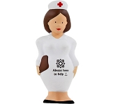 Nurse With Clipboard Stress Toy  by Gopromotional - we get your brand noticed!