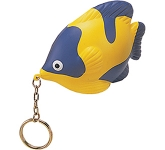 Tropical Fish Keyring Stress Toy  by Gopromotional - we get your brand noticed!