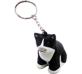 Cat Keyring Stress Toy  by Gopromotional - we get your brand noticed!
