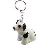 Cute Dog Keyring Stress Toy  by Gopromotional - we get your brand noticed!