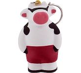 Cool Cow Keyring Stress Toy  by Gopromotional - we get your brand noticed!
