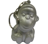 Monkey Keyring Stress Toy  by Gopromotional - we get your brand noticed!