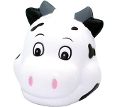 Cute Cow Head Stress Toy  by Gopromotional - we get your brand noticed!