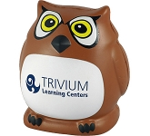 Owl Mascot Stress Toy  by Gopromotional - we get your brand noticed!