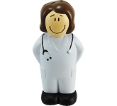 Young Female Doctor Stress Toy