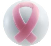 Cancer Ribbon Stress Ball