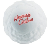 Snowball Stress Ball  by Gopromotional - we get your brand noticed!