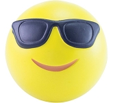 Cool Emoji Stress Ball  by Gopromotional - we get your brand noticed!