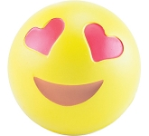 Love Emoji Stress Ball  by Gopromotional - we get your brand noticed!