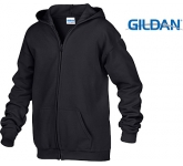 Gildan Heavy Blend Youth Zipped Hoody  by Gopromotional - we get your brand noticed!