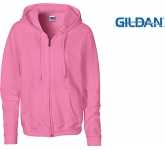 Gildan Heavy Blend Ladies Zipped Hoody  by Gopromotional - we get your brand noticed!