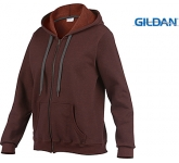 Gildan Heavy Blend Vintage Ladies Zipped Hoody  by Gopromotional - we get your brand noticed!