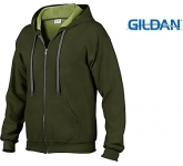 Gildan Heavy Blend Vintage Zipped Hoody  by Gopromotional - we get your brand noticed!