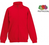 Fruit Of The Loom Kids Classic Full Zip Sweat Jacket  by Gopromotional - we get your brand noticed!