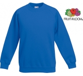 Fruit Of The Loom Children's Classic Raglan Sweatshirt  by Gopromotional - we get your brand noticed!