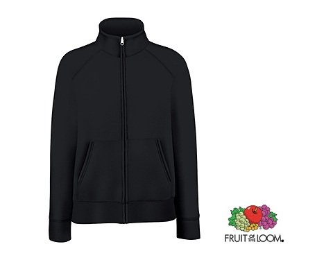 Fruit Of The Loom Lady-Fit Premium Sweat Jacket 62116