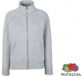 Fruit Of The Loom Lady-Fit Premium Full Zip Sweat Jacket