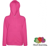 Fruit Of The Loom Lady-Fit Lightweight Hoody  by Gopromotional - we get your brand noticed!