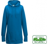 AWDis Girlie Longline Hoody  by Gopromotional - we get your brand noticed!