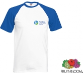 Fruit Of The Loom Baseball T-Shirt  by Gopromotional - we get your brand noticed!