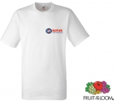 Fruit Of The Loom Heavy T-Shirts - White  by Gopromotional - we get your brand noticed!