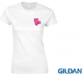 Gildan Softstyle Ringspun Women's T-Shirts - White