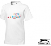 Slazenger Ace Kids T-Shirts - White